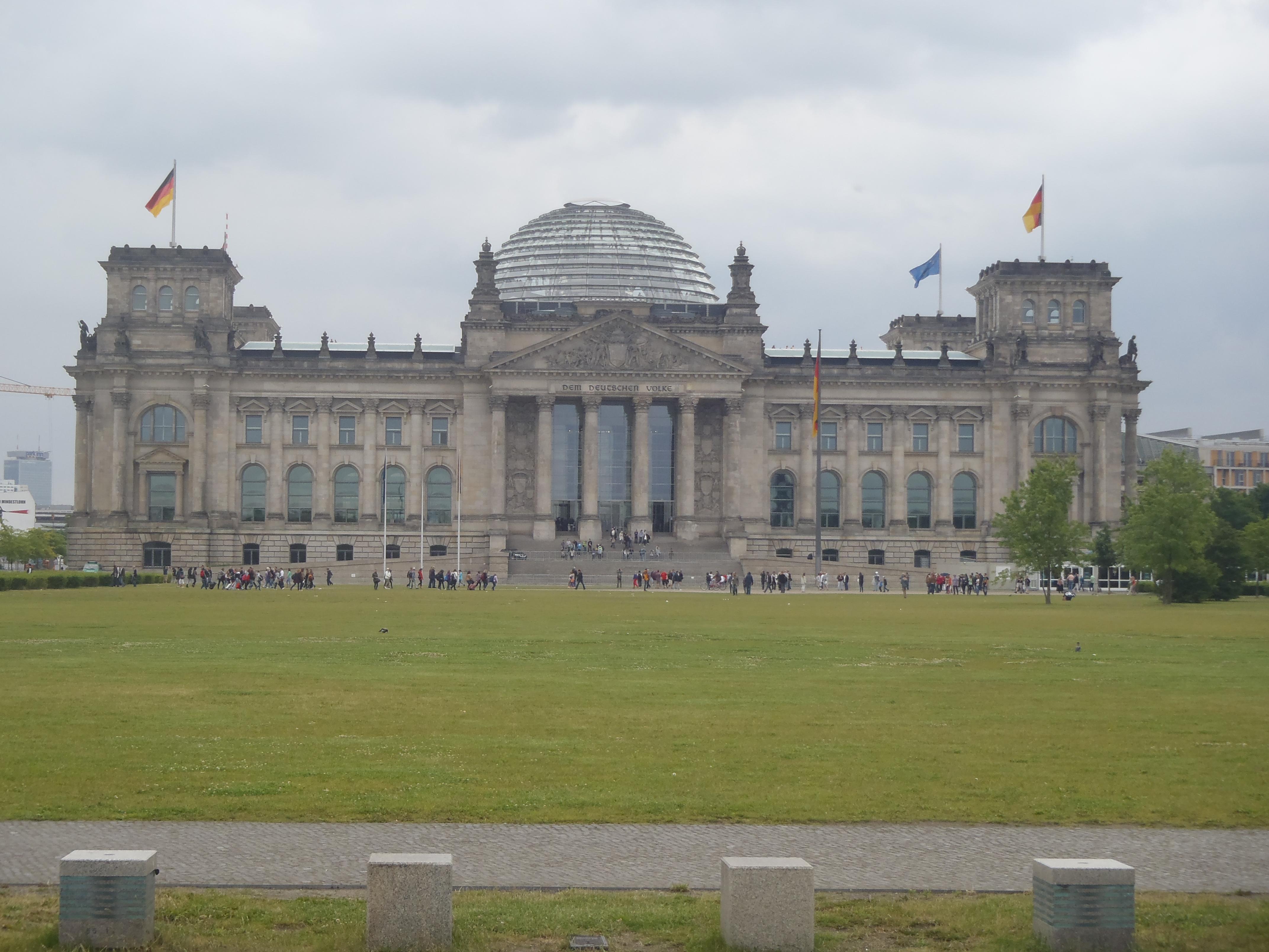 Das Reichstaggebäude